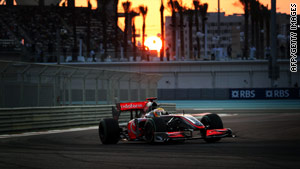 Lewis Hamilton will be looking to end a disappointing 2009 season on a high note in Abu Dhabi.