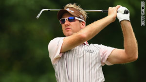 Poulter ended a three-year European Tour drought with victory in the Barclays Singapore Open.