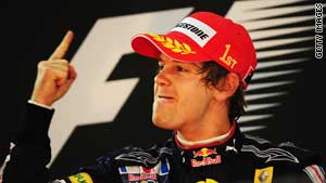 Sebastian Vettel finishes the season on a high as he wins the inaugural Abu Dhabi GP.