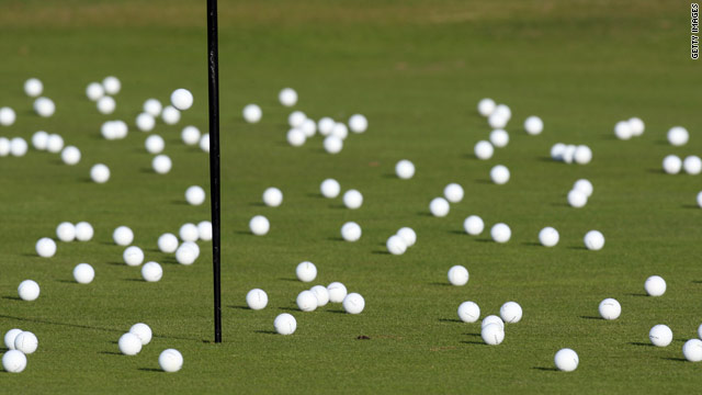 Concern is growing in some corners that golf-ball litter is a growing problem.