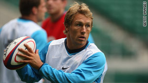 Jonny Wilkinson will make his first international appearance for 18 months.