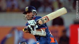 India's darling Sachin Tendulkar scored his 45th century in one-day internationals.