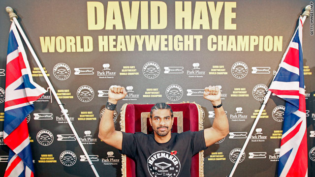 David Haye is confident he will overcome American John Ruiz in the mandatory defense of his WBA title.