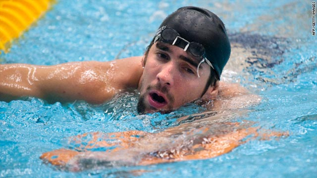 Multiple Olympic champion Michael Phelps is getting used to the old-style suits ahead of next year's new rules.