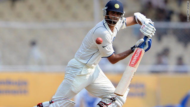 Rahul Dravid moved past 11,000 Test runs with a superb unbeaten century against Sri Lanka.