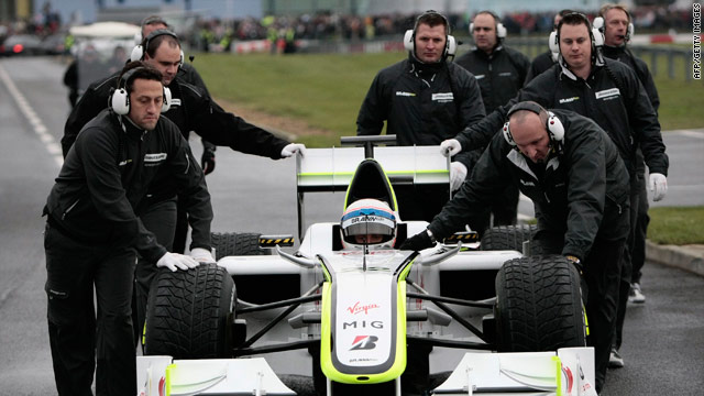 The Brawn GP team have been taken over by German car manufacturers Mercedes-Benz in time for the 2010 season.