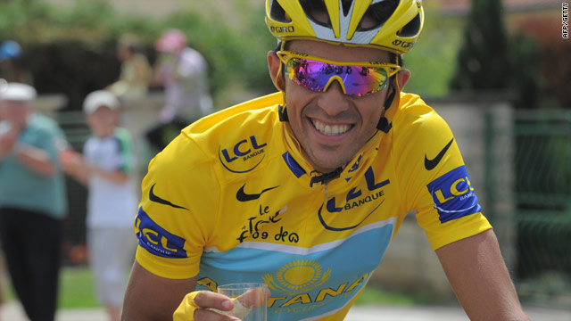 Contador enjoyed Tour de France glory with Astana earlier this year.
