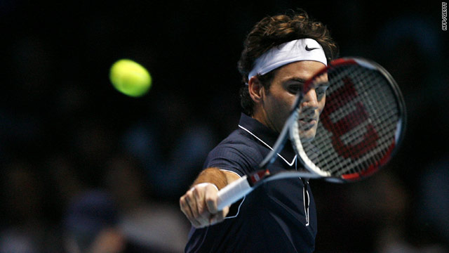 Federer was made to battle for much of his match with Verdasco at the ATP Tour finals.