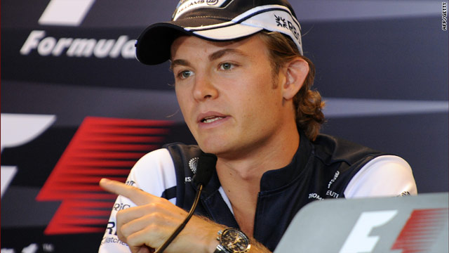 Rosberg fills one of the slots vacated by the departure of Jenson Button and Rubens Barrichello.
