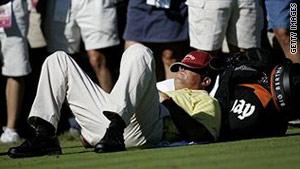 Deep snoring can affect your golf handicap
