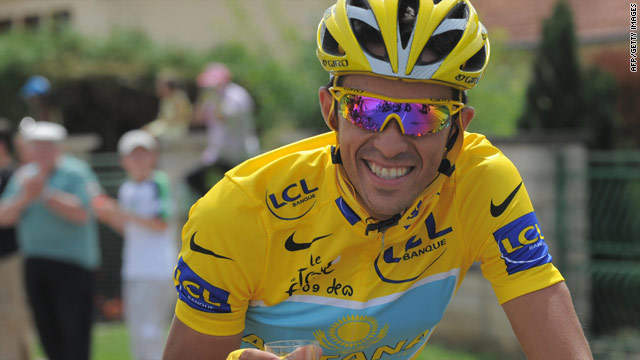 Alberto Contador will be hoping to celebrate another Tour de France victory with Astana next year.
