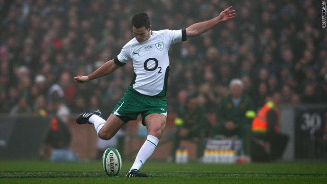 Jonathan Sexton staked a claim to Ireland's fly-half berth ahead of next year's Six Nations tournament.