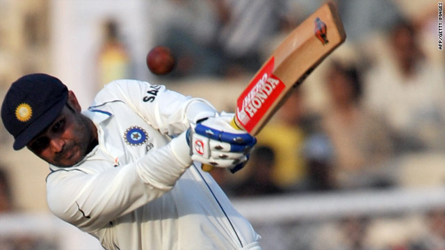 Virender Sehwag is aiming to put himself in the record books with an unprecedented third triple-ton.