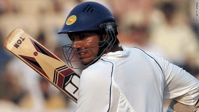 Skipper Kumar Sangakkara delayed a seemingly inevitable defeat with his 21st Test century for Sri Lanka.