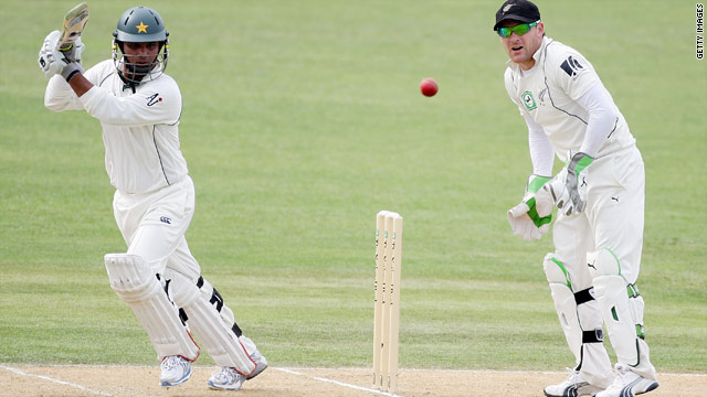 Pakistan's Imran Farhat finished with an unbeaten 117 as his side collapsed to 223 all out against New Zealand.