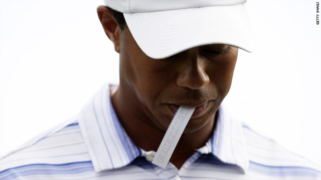 Woods' career has been thrown into doubt after taking an indefinite break from competitive golf.