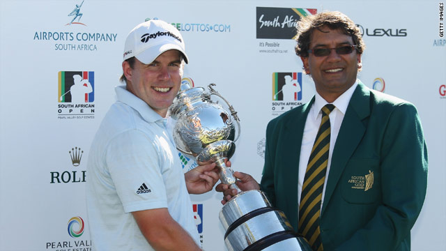Ramsay was getting his hands on a European Tour trophy for the first time.