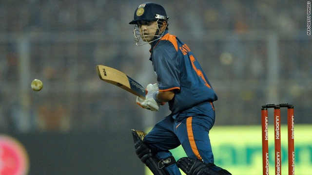 Gautam Gambhir scored an unbeaten 150 to help India claim a winning 3-1 one-day series lead over Sri Lanka.