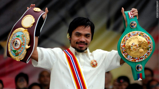 Manny Pacquiao is unhappy about the Mayweather camp's insistence he submits to blood-testing