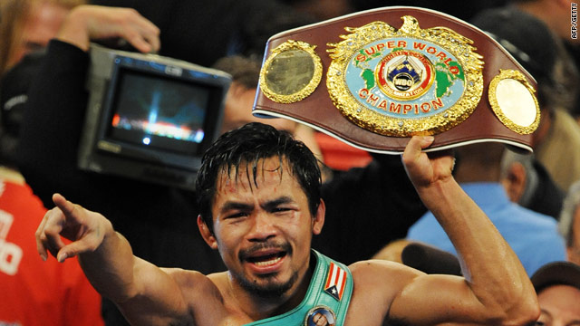Pacquiao's incredible displays have made him one of the hottest properties in world boxing.