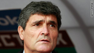 Juande Ramos has paid the price for a poor set of results since taking charge at CSKA Moscow.
