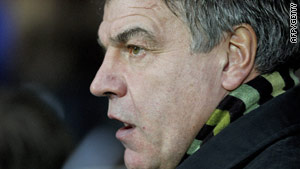 Allardyce watched his side win from the safety of the stands at Ewood Park.