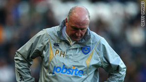 The transfer ban is another headache for Portsmouth manager Paul Hart.