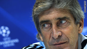 Pellegrini is under the spotlight after his side's disastrous Copa del Rey defeat.