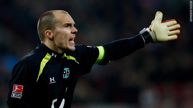 Robert Enke had been expected to be part of Germany's squad for the 2010 World Cup finals.