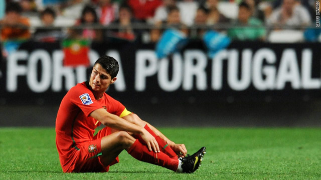 Cristiano Ronaldo was at the center of a club-versus-country row after being named in the Portugal squad.