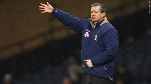 George Burley has been sacked as Scotland national coach after achieving only three wins in 14 matches in charge.