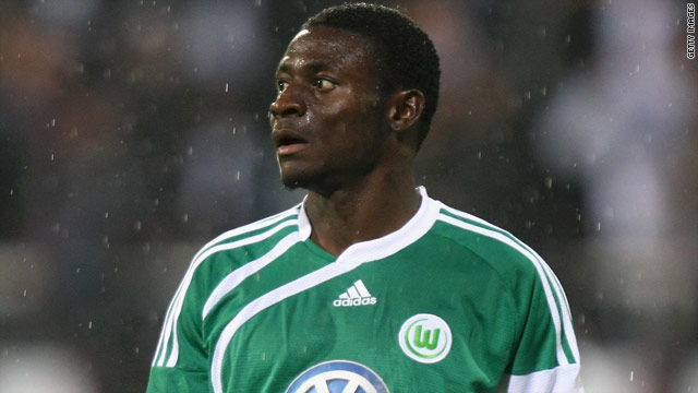 Martins is hoping to return for the second half of the Bundesliga season after shin surgery.