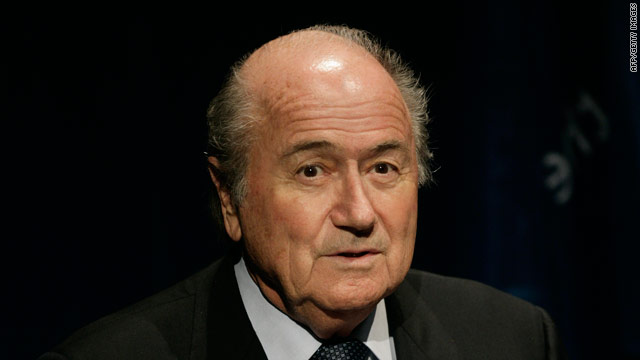 Blatter has revealed that Ireland asked for FIFA to include them in the 2010 World Cup finals.