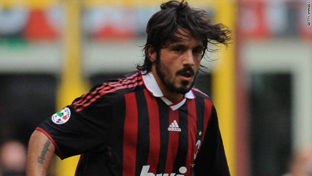 Gattuso has beomce unsettled at his lack of first team action at the San Siro.