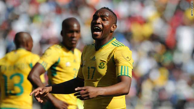 Benni McCarthy is South Africa's all time leading goalscorer.