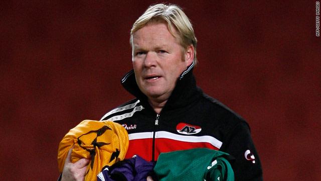 Ronald Koeman has paid the price for AZ Alkmaar's poor start to the Dutch league season.
