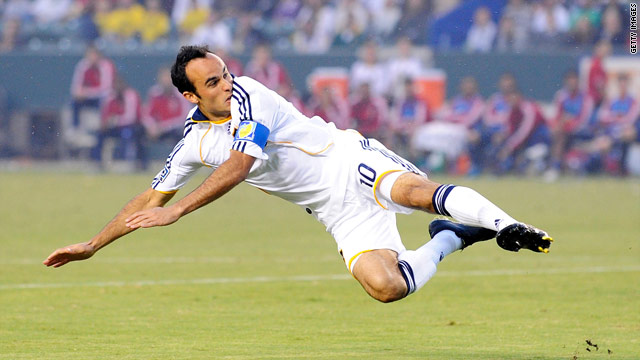 Landon Donovan has made his name as an all-action star for the U.S. and his club Los Angeles Galaxy.