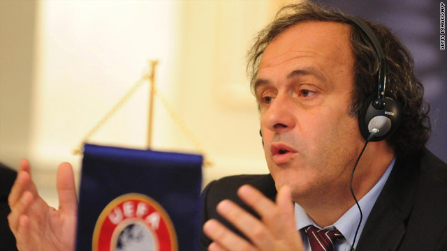 Michel Platini is confident Ukraine and Poland will be ready to host the European Championships in 2012.
