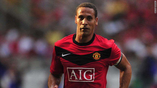 Rio Ferdinand has not played for Manchester United since their defeat by Liverpool in October.