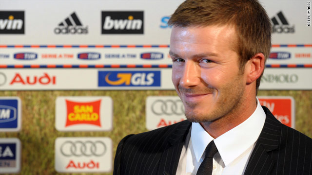 David Beckham could be set for a return to his old stomping ground of Old Trafford.