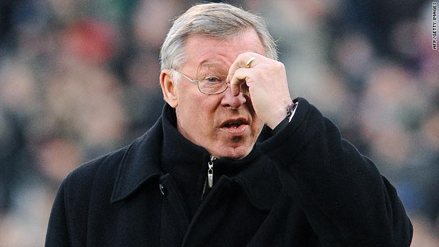 Manchester United manager Alex Ferguson could not believes his eyes as his side lost 3-0 at Fulham.