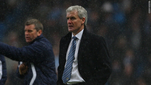 Hughes said he was given no clue by City's owners that he was about to be sacked.