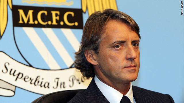 Mancini has ambitious plans after taking over at big-spending Manchester City.