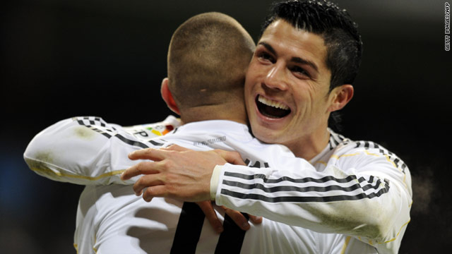Real Madrid forward Cristiano Ronaldo has urged his teammates to continue their good form into the New Year.