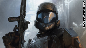 """Halo 3"" ODST"" lets you become an elite marine dropped into a futuristic African city to fight space aliens."