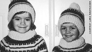 Brothers Jens, left, and Lars Rasmussen grew up to become some of the world's best Web developers.