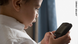Games on a smartphone -- your phone, not your young child's -- can help keep kids from being bored.