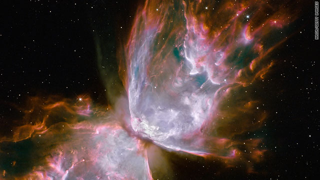 The Hubble Space Telescope snapped this image of the Butterfly Nebula. Here's a look at three space-themed phone apps.