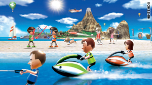 """Wii Sports Resort"" transports you to an activity-filled tropical island."