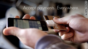A forthcoming app called Square vows to help make credit card payments via smartphones.